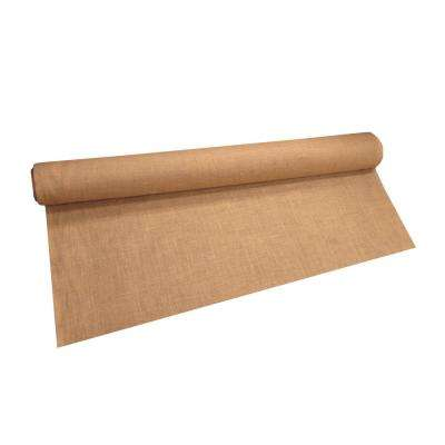 60 in. W Natural Burlap Fabric in Natural