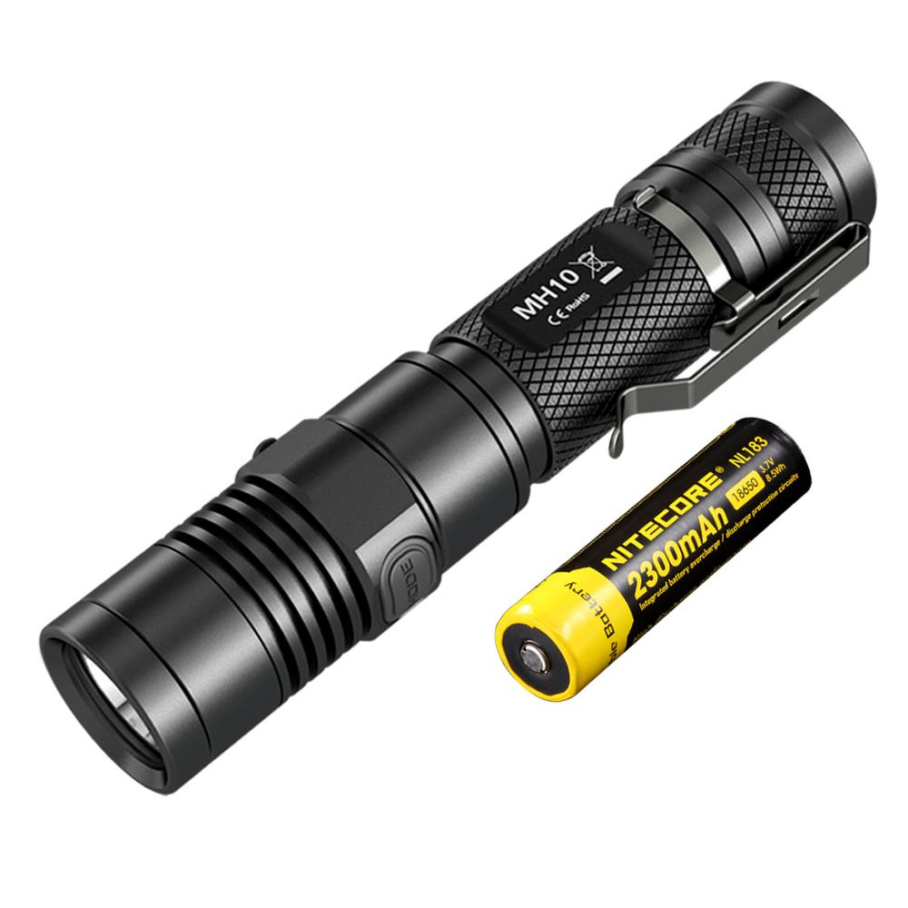 Multitask Hybrid Series MH10 1000 Lumens LED Rechargeable Flashlight