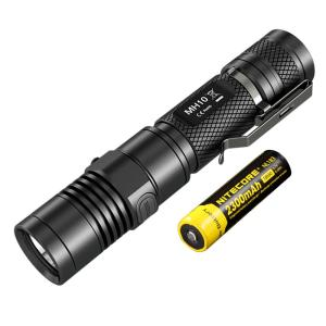 Click here to buy NITECORE Multitask Hybrid Series MH10 1000 Lumens LED Rechargeable Flashlight by NITECORE.