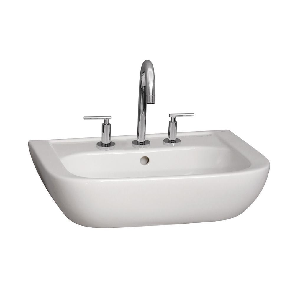 Caroline 450 17-3/4 in. Wall Hung Sink in White