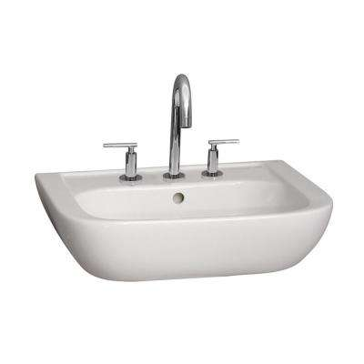 Caroline 450 17-3/4 in. Wall Hung Sink in White