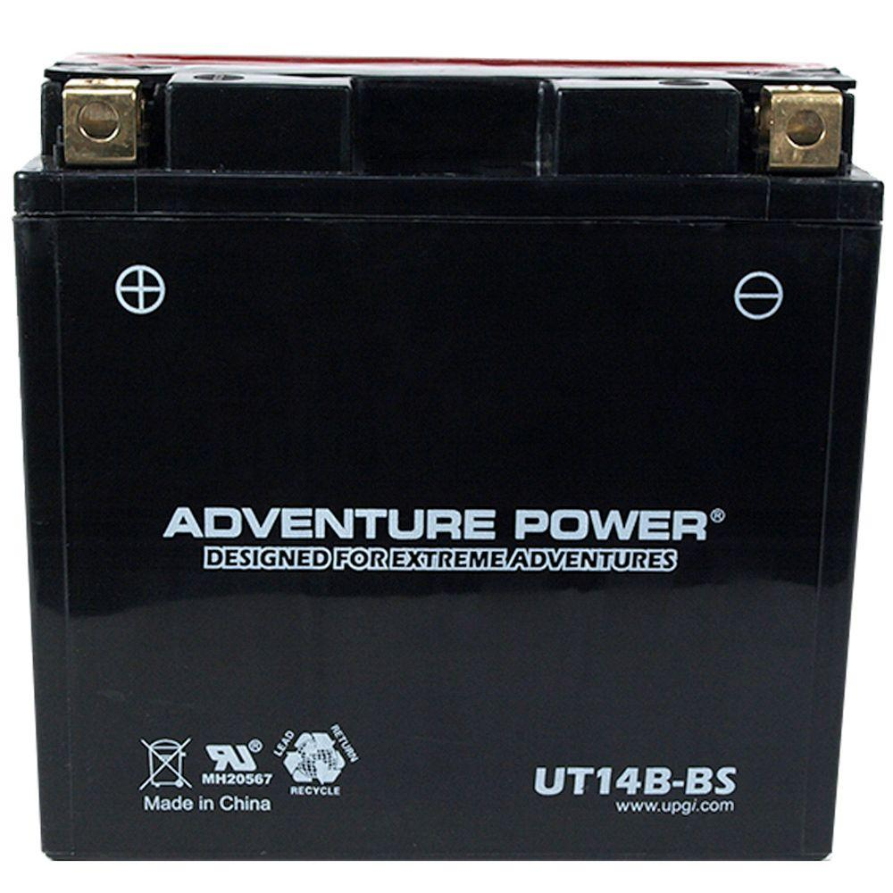 UPG Dry Charge AGM 12-Volt 12 Ah Capacity K Terminal Battery