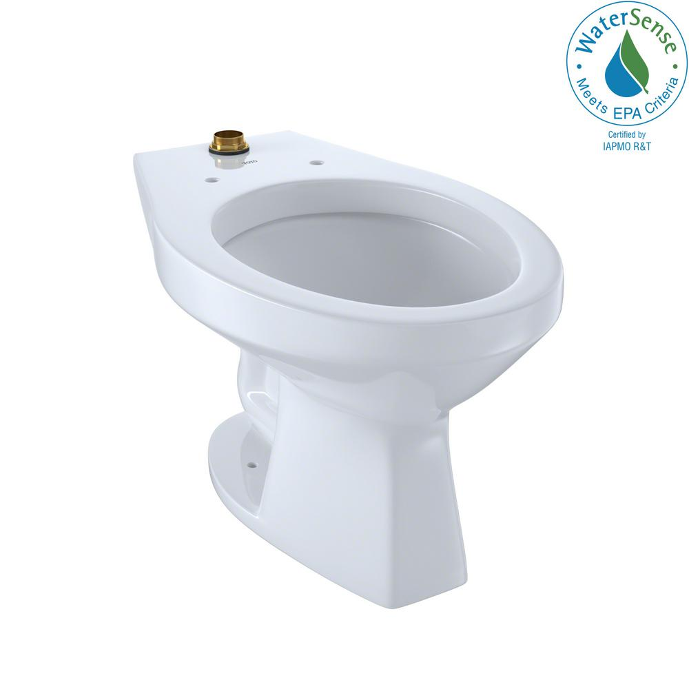 Flushometer 1.0 GPF Urinal with Top Spud and CeFiONtect in Cotton