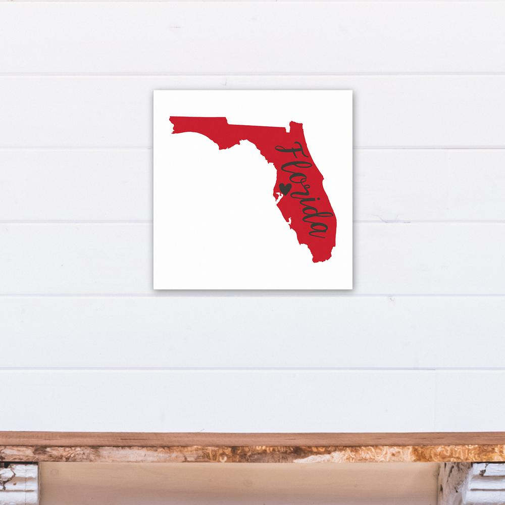 Red And Black Florida Pride
