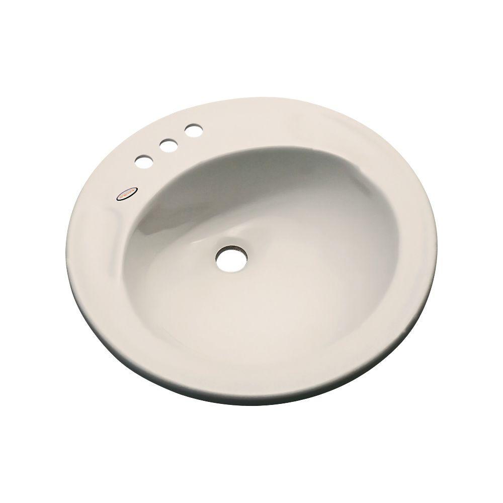 null Province Drop-In Bathroom Sink in Desert Bloom