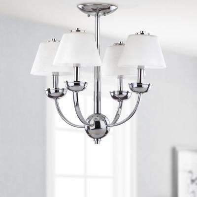 Yardley 4-Light Chrome Chandelier