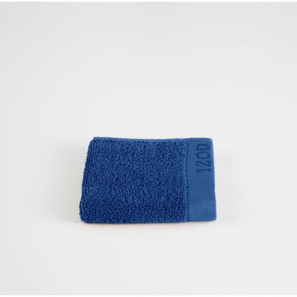 IZOD Classic Egyptian Cotton Wash Cloth in Morning Glory 079465022414
