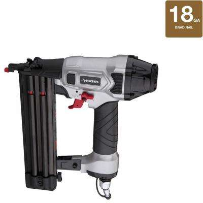 Pneumatic 2 in. 18-Gauge Brad Nailer