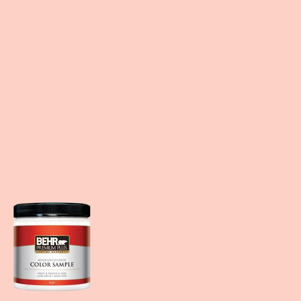 8 oz. #200A-2 Coral Cream Interior/Exterior Paint Sample