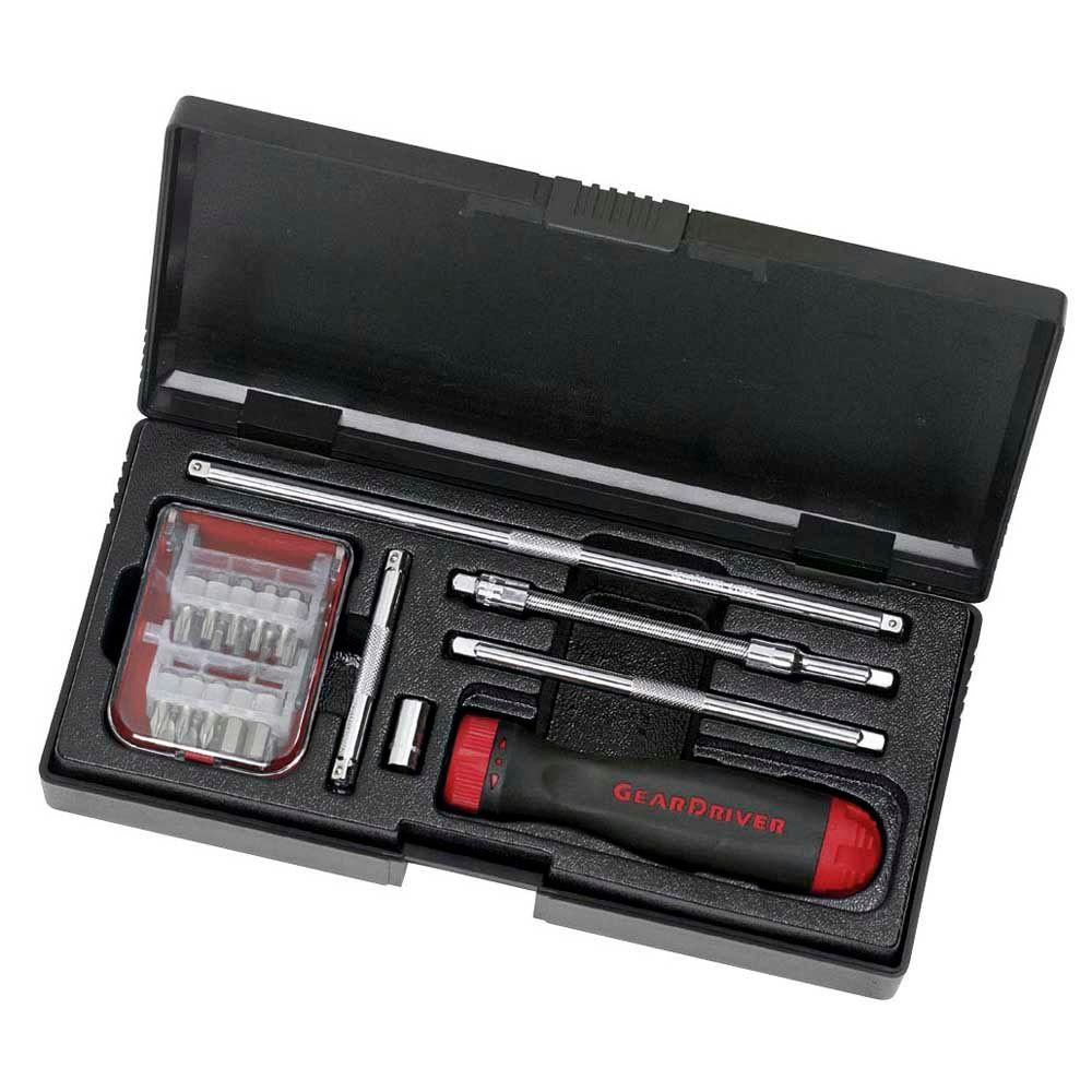 GearWrench Ratcheting Screwdriver Set (26 per Pack)