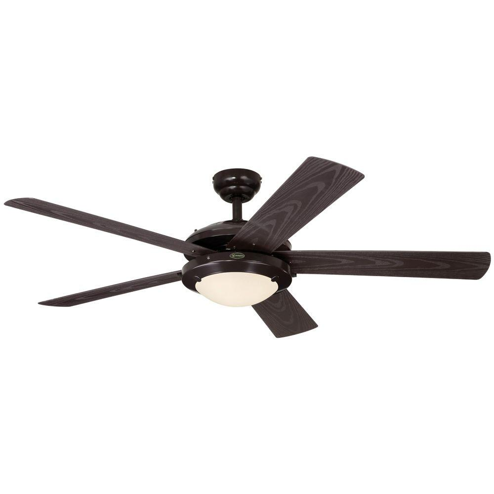 Westinghouse comet 52 in espresso indoor outdoor ceiling fan 7200700 the home depot - Westinghouse and living ...
