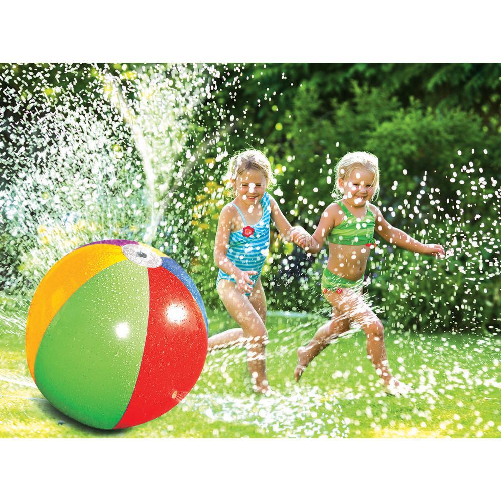 Splash and Spray Water Sprinkler Ball Toy
