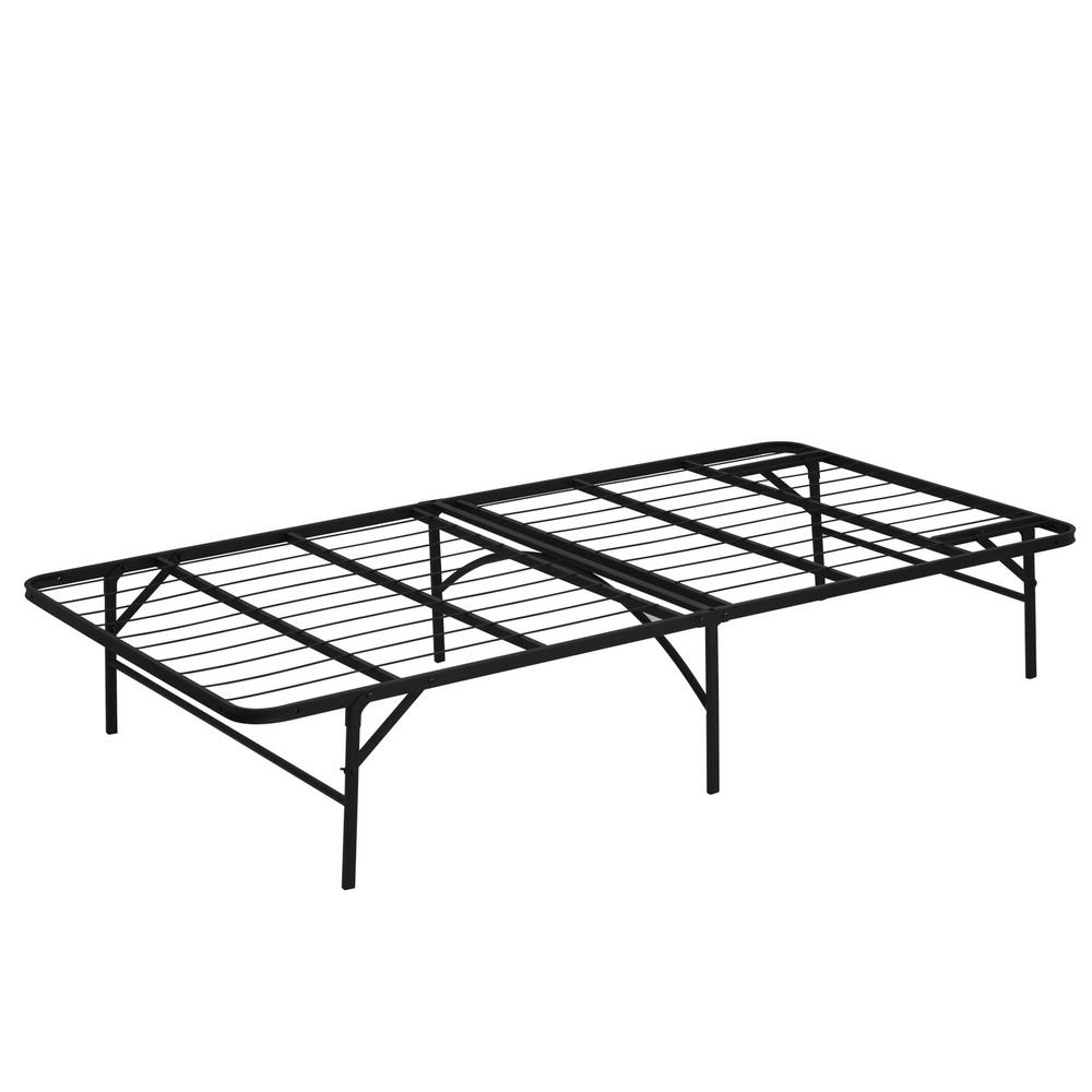 Furinno Furinno Angeland Twin Metal Bed Frame, Black