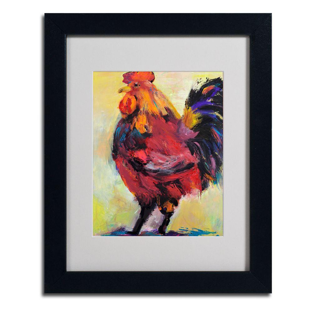 11 in. x 14 in. In Command Matted Framed Art