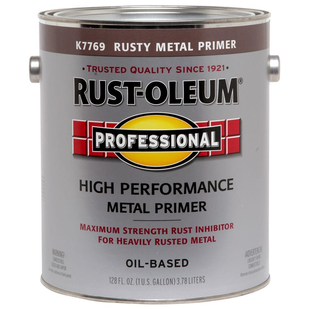 Rust-Oleum Professional 1 gal. Red Flat Rust Preventive Primer (Case of 2)