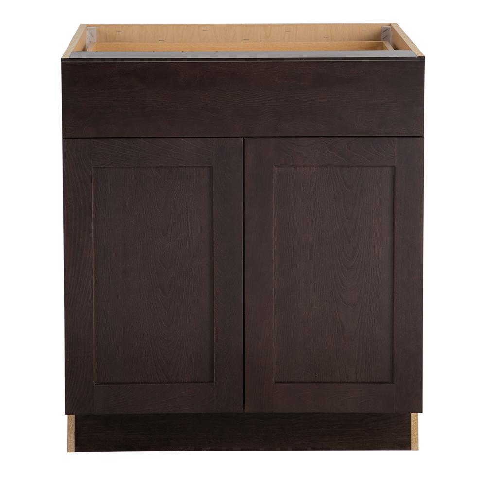 Cambridge Cabinet Door Style: Hampton Bay Cambridge Assembled 30x34.5x24.625 In. Base