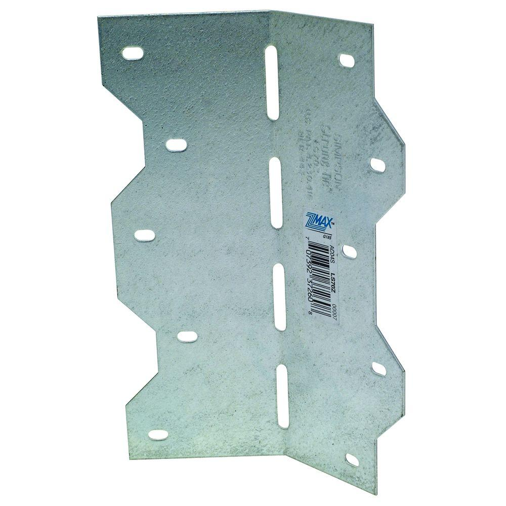 Simpson Strong-Tie ZMAX 6-3/8 in. 18-Gauge Galvanized Adjustable L-Angle