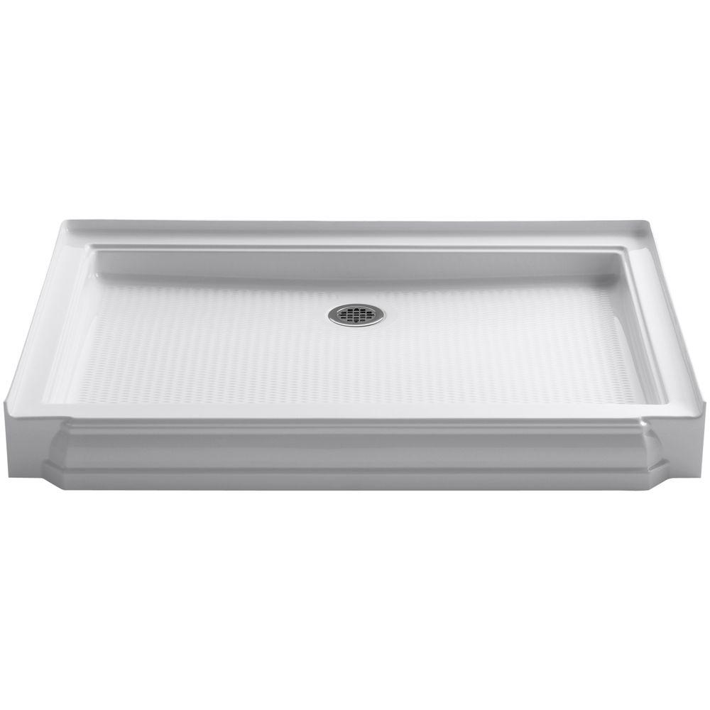 Memoirs 48 in. x 34 in. Single Threshold Shower Base in