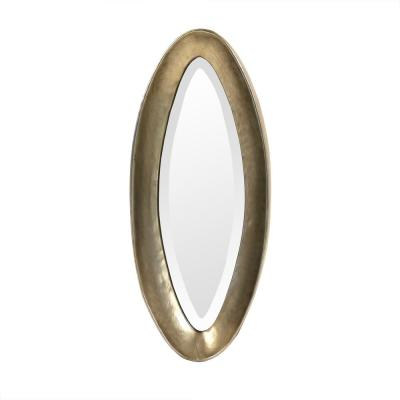 Oval - Gold metallic - Mirrors - Home Decor - The Home Depot