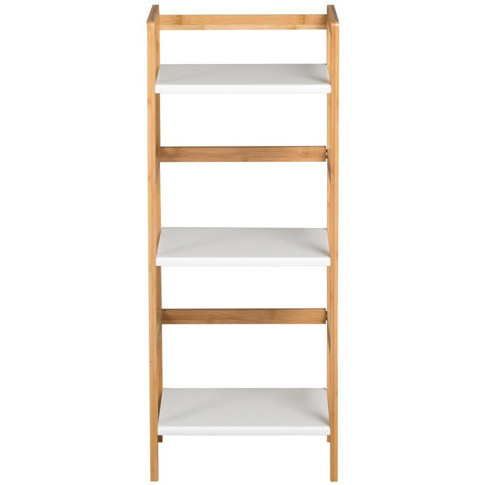 Eccostyle White 3 Tier Mini Tower Bookcase