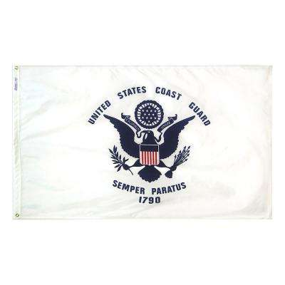 3 ft. x 5 ft. U.S. Coast Guard Armed Forces Flag