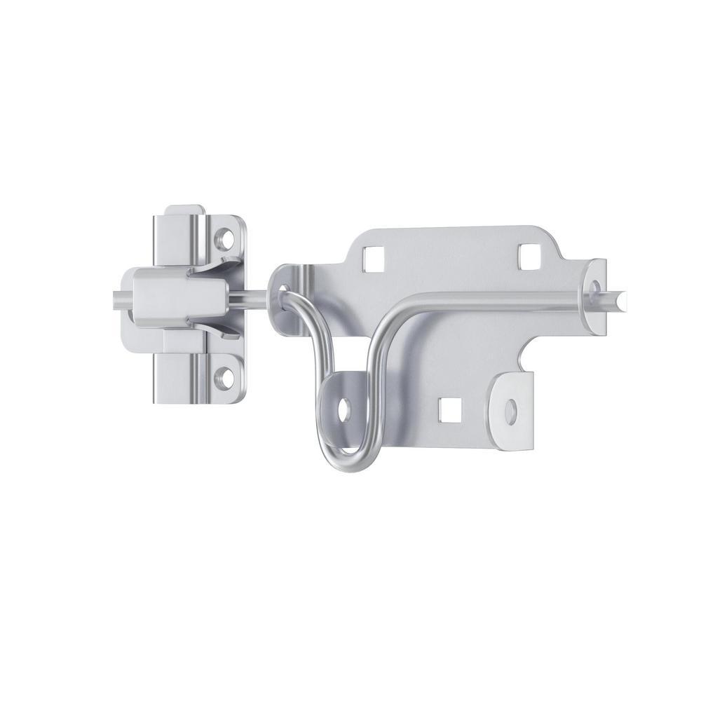 "6/"" Bathroom sliding lock latch 4/"" CHROME PLATED 3/"" DOOR SLIDE BOLT CATCH"