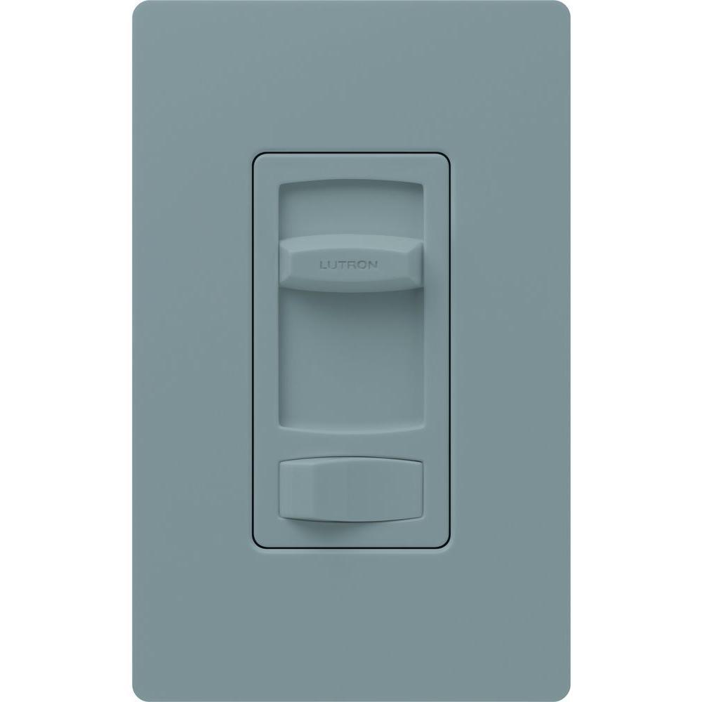 Skylark Contour 1000-Watt/600 VA Single-Pole/3-Way Preset Dimmer - Gray