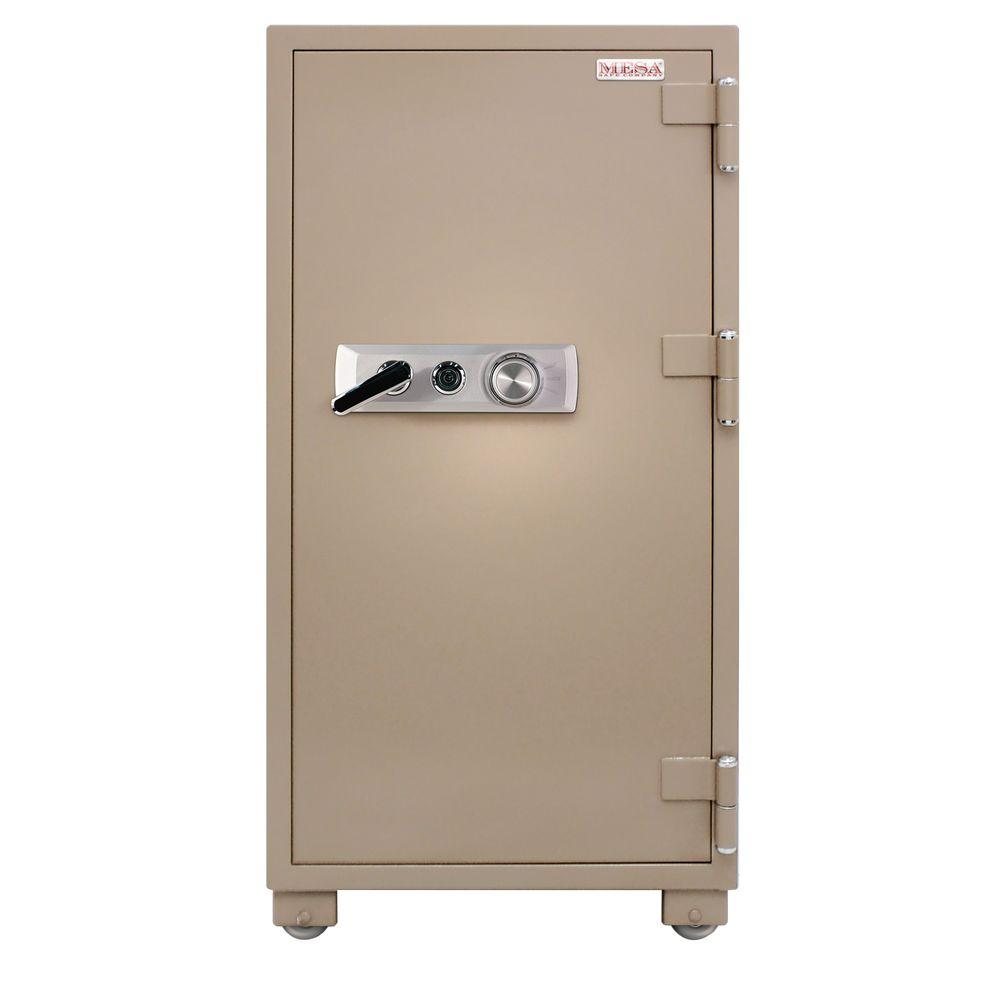 Mesa Safe Company Mfs140C 2-Hour Fire-Resistant Mechanical Lock Safe In Tan