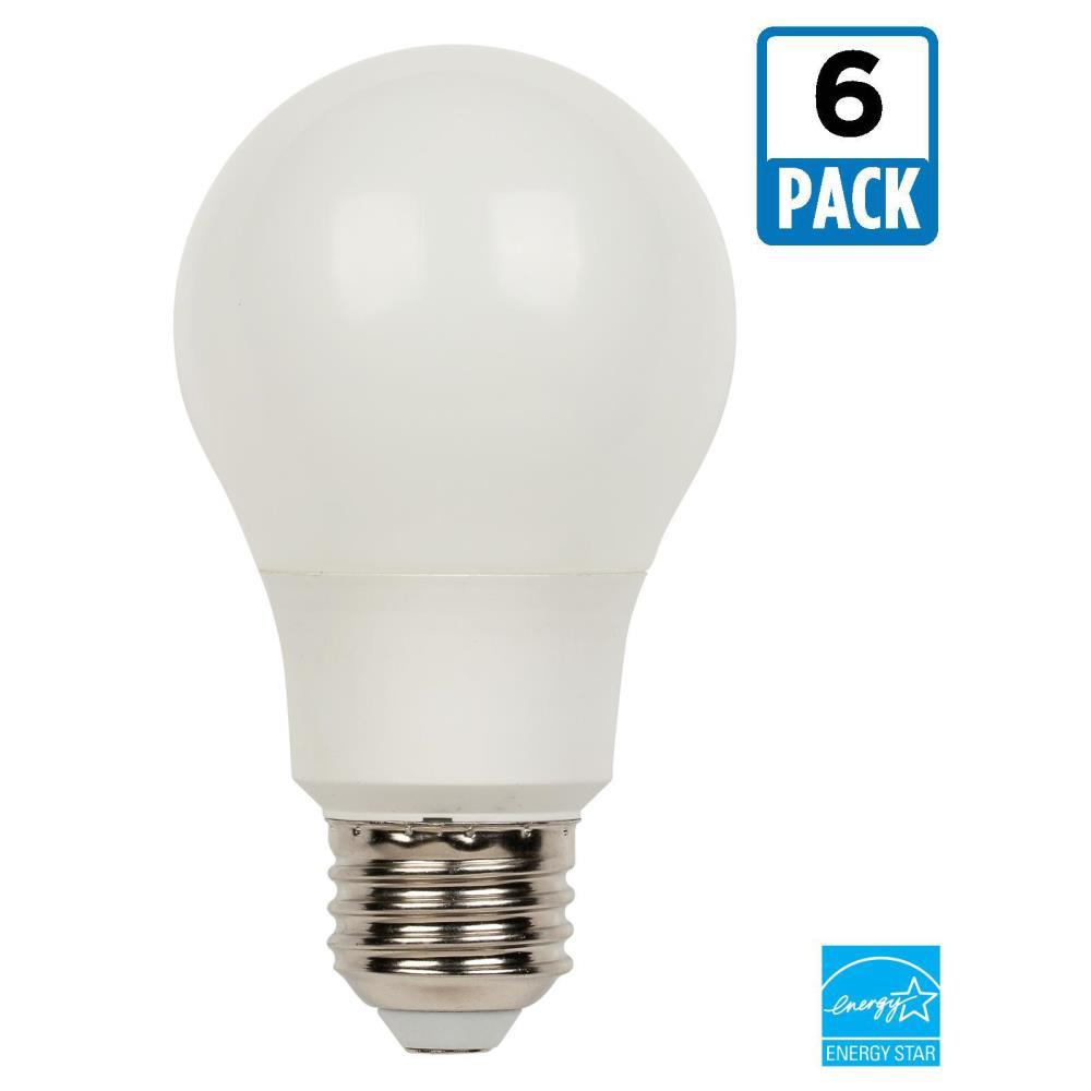 Bulbrite 40w Equivalent Amber Light A19 Dimmable Led: Westinghouse 40W Equivalent Bright White Omni A19 LED