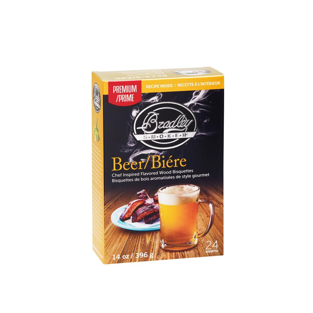 Premium Beer Bisquettes (Box of 24)
