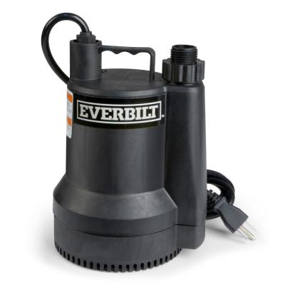 1/6 HP Plastic Submersible Utility Pump