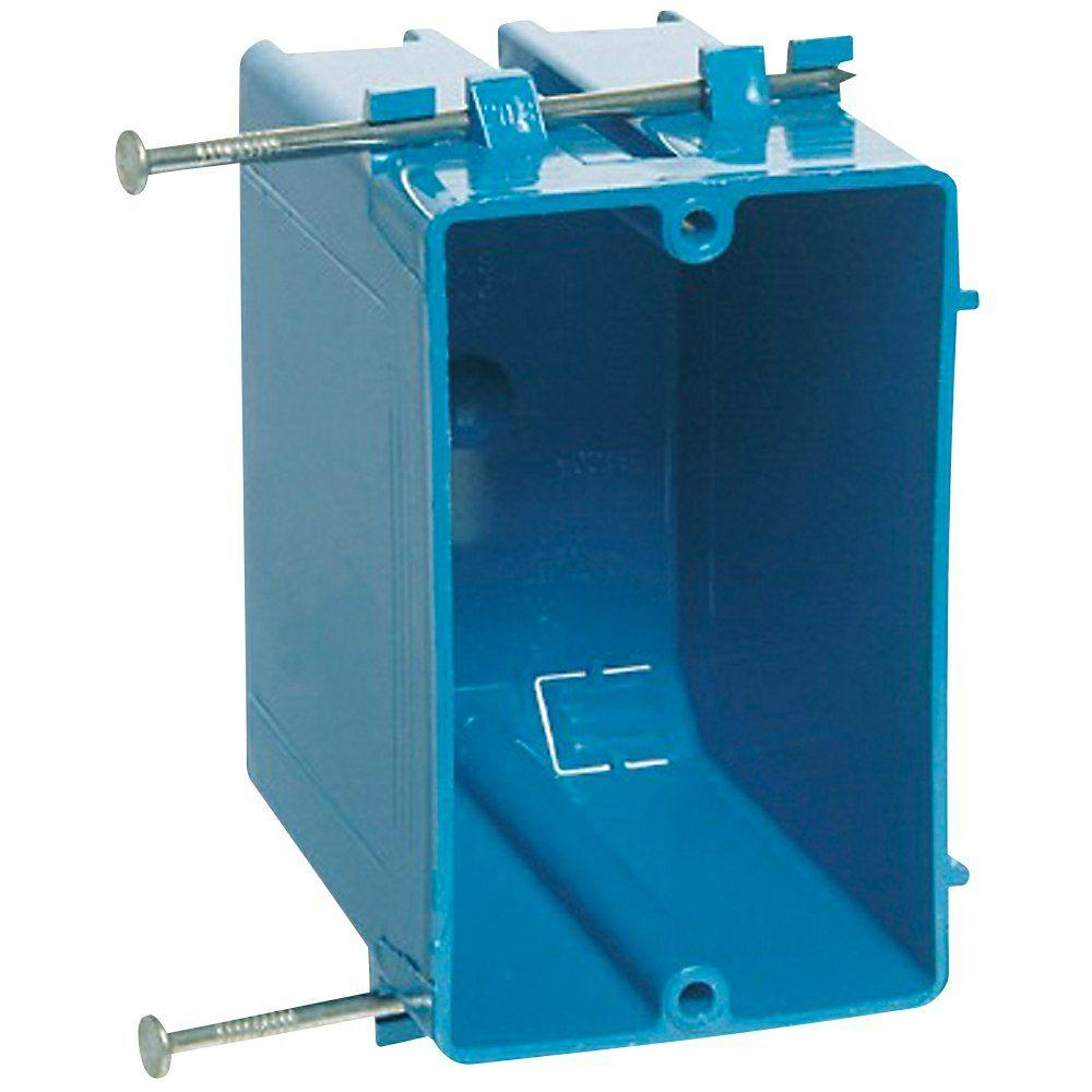 Carlon 1-Gang 20 cu. in. New Work PVC Electrical Box