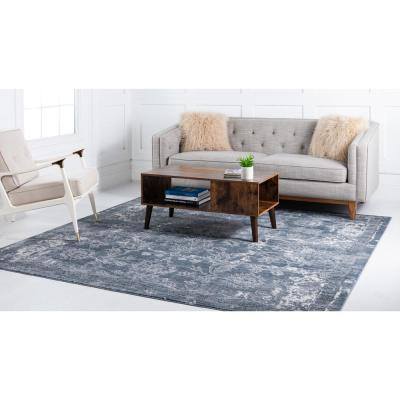 Portland Albany Blue 8 ft. x 8 ft. Square Area Rug