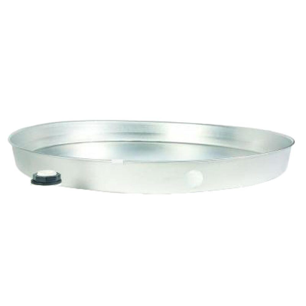 Camco 32 In I D Aluminum Water Heater Drain Pan 20868
