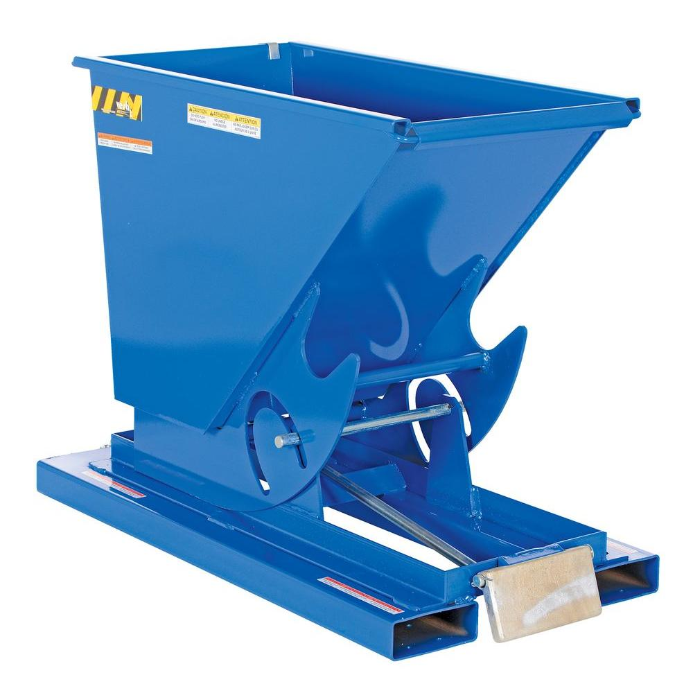2,000 lb. Capacity 0.25 cu. yd. Light-Duty Self-Dump Hopper