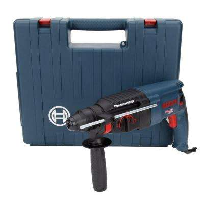 1 in. SDS-plus Corded Variable Speed Rotary Hammer Drill with Auxiliary Handle and Chuck Key