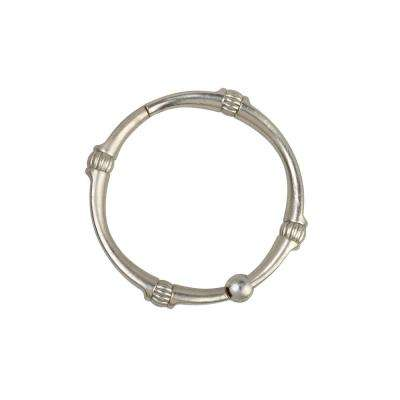 NeverRust Decorative Shower Rings in Nickel (12-Pack)