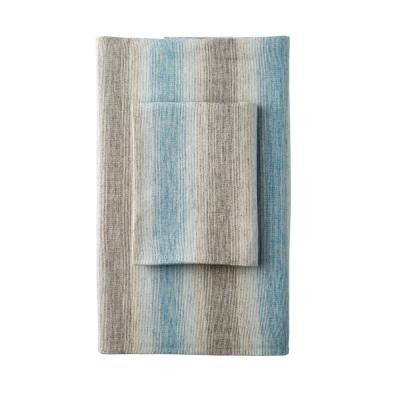 Endicott Stripe Yarn Dye Flannel Fitted Sheet