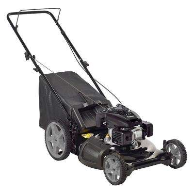 21 in. Walk Behind Manual Push Gas Mower with KOHLER 675OHV Engine