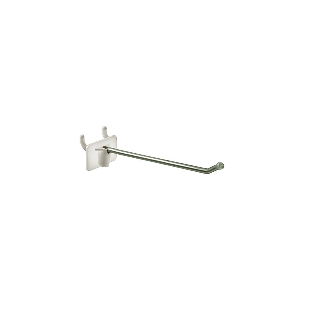 4 in. Metal Wire Hook with Attached Plastic Back(50-Pack)