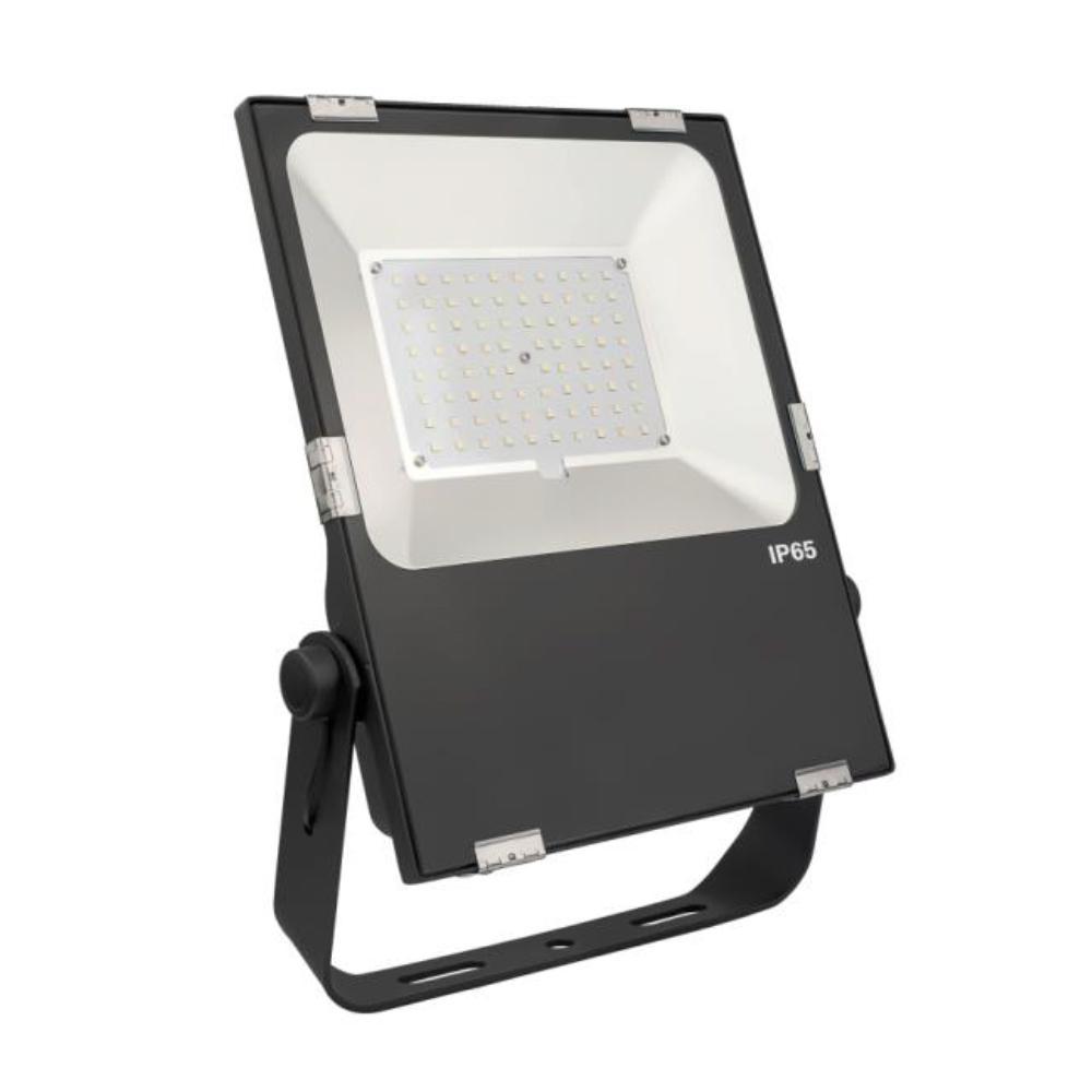 120-Watt 110 Black Outdoor Integrated LED Flood Light