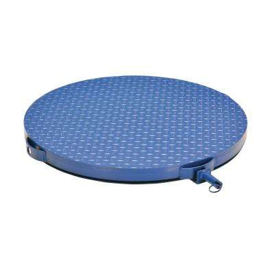 24 in. Round Carousel Steel Tread Plate