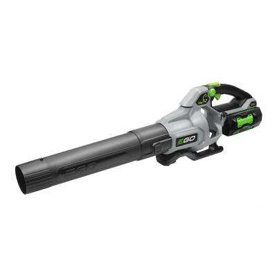 168 MPH 580 CFM 56V Lithium-Ion Cordless Electric Variable-Speed Blower, 5.0 Ah Battery and Charger Included