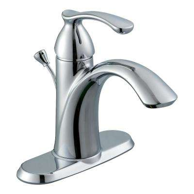 Edgewood Single Hole Single-Handle High-Arc Bathroom Faucet in Chrome