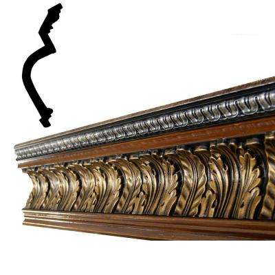 47938 4-7/8 in. x 6-15/16 in. x 96 in. Polyurethane Hand Painted Crown Moulding