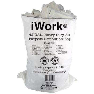 42 Gal. Contractor Trash Demo Bags (20-Count)