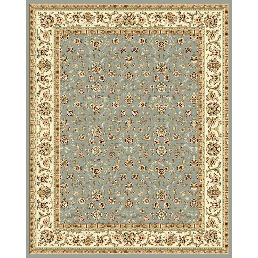 Safavieh Lyndhurst Light Blue Ivory 10 Ft X 14 Ft Area