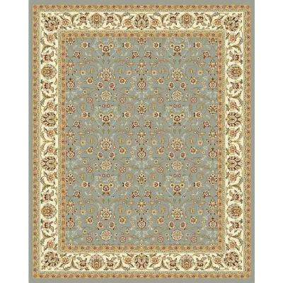Lyndhurst Light Blue/Ivory 8 ft. x 11 ft. Area Rug