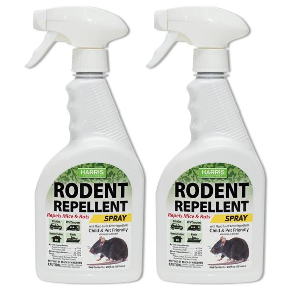 20 oz. Rodent Repellent Essential Oil Spray (2 Pack)