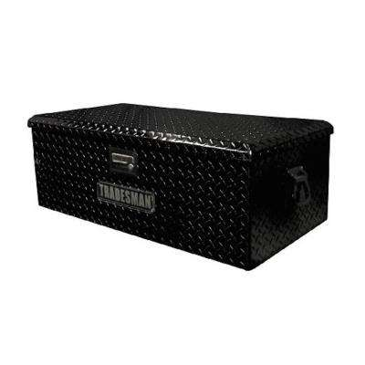 36 in. Aluminum ATV Storage Box, Black